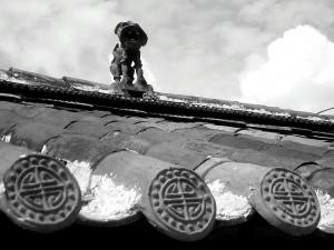 Кошки на крышах Лидзяня