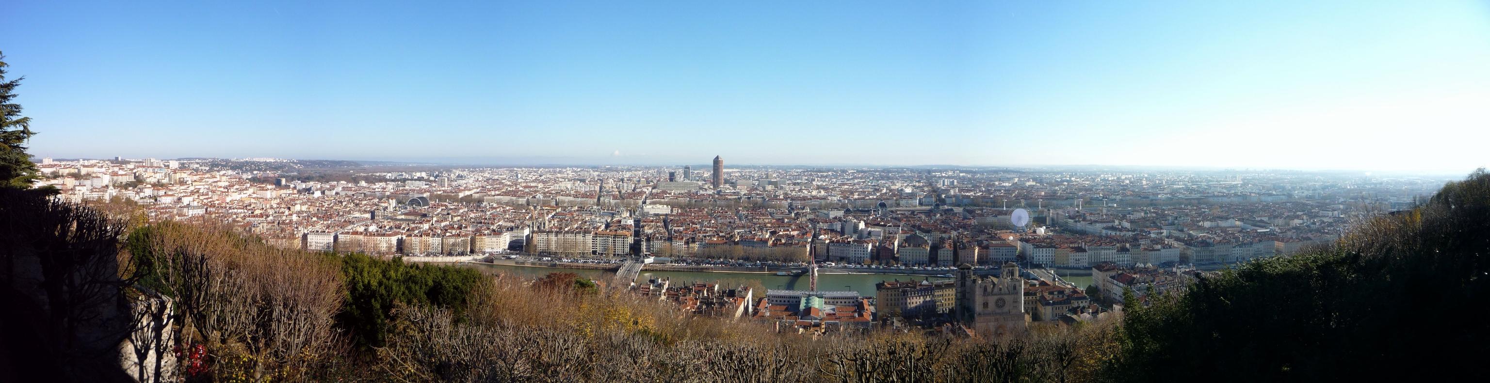 Панорама Лиона